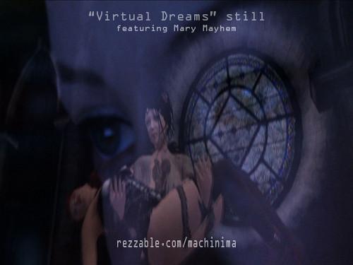 """Virtual Dreams"" vid/machinima stills"