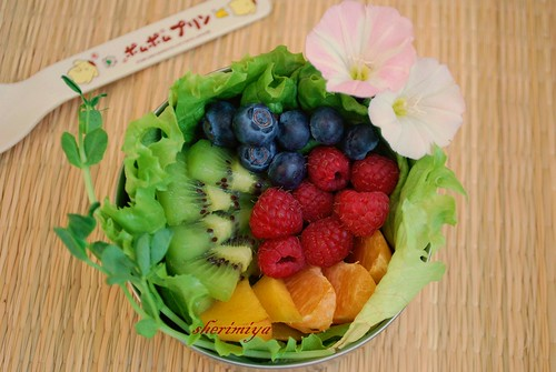 end-of-spring fruit bento