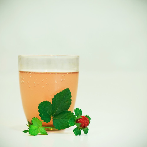 Wild strawberries drink!