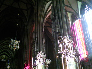 Interior of St Stephen's Cathedral, Vienna