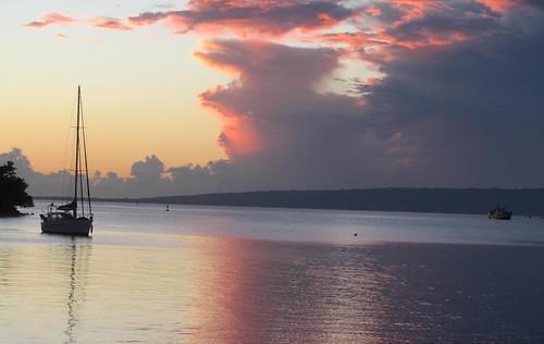 Sunset in Vanuatu