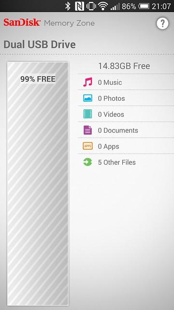 SanDisk Memory Zone App - Dual USB Drive
