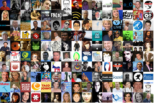 My Twitter Followers Mosaic