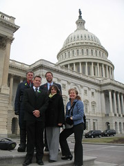 Missouri delegation at the National Bike  summit