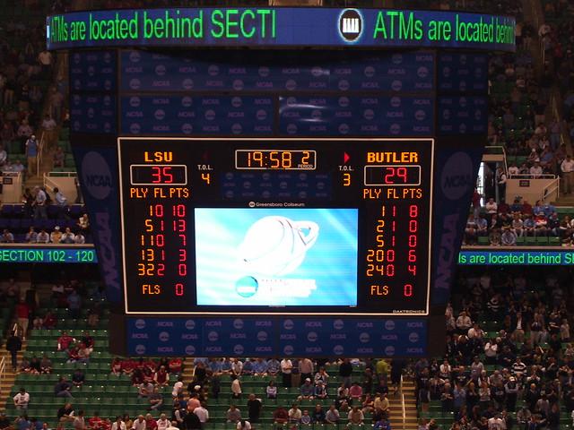 Lsu 35 Butler 29 Halftime Flickr Photo Sharing