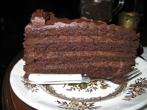 old fashioned chocolate cake, sweet revenge patisserie