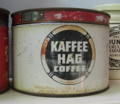 Kaffee Hag Coffee Tin - General Foods