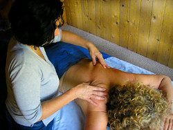 Massage releases endorphins