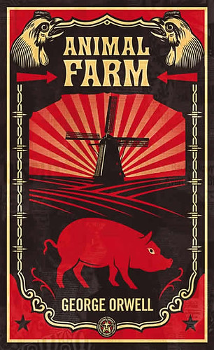 penguin.animal.farm.shepard.fairey