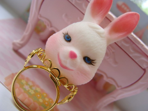 Rabbit Head Ring