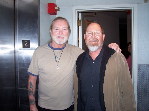Gregg Allman and David Reid