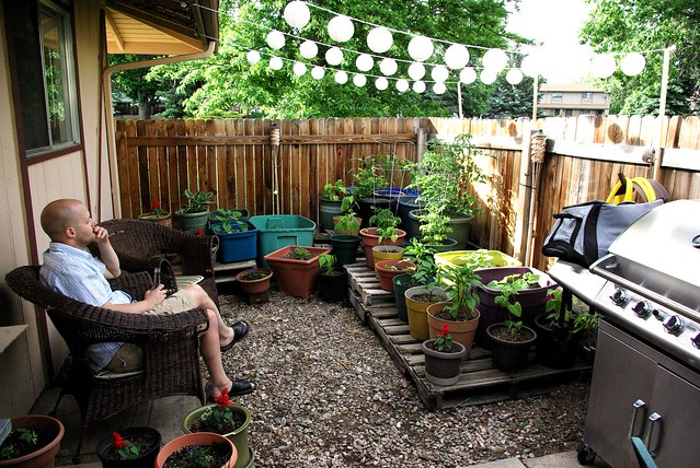 Small gardens flickr photo sharing for Gardening in small spaces