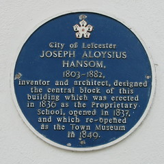 Photo of Joseph Hansom blue plaque