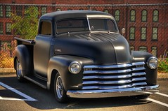 1941 ford(0.0), custom car(0.0), compact car(0.0), hot rod(0.0), automobile(1.0), automotive exterior(1.0), pickup truck(1.0), vehicle(1.0), truck(1.0), automotive design(1.0), chevrolet advance design(1.0), antique car(1.0), land vehicle(1.0), motor vehicle(1.0),