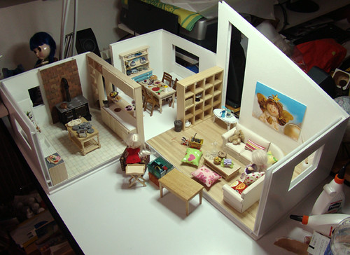 Modular Dollhouse - In Progress