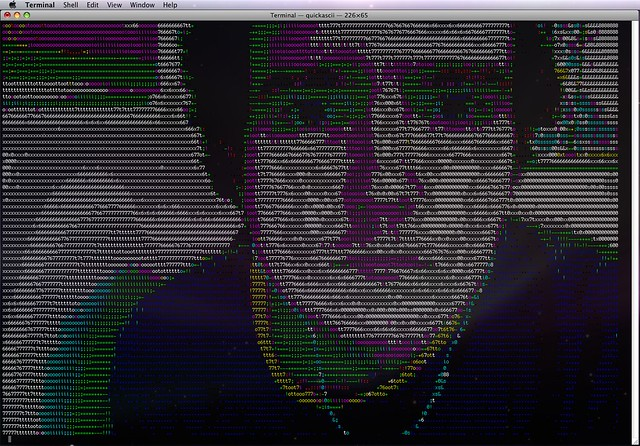 Need an ASCII Shape Table - comp sys apple2