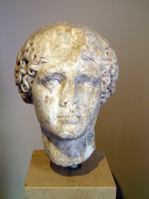 Head of Agrippina the Elder, Sculpture of Roman Period, Istanbul Archaeology Museum