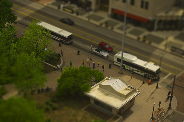 Broad and High faux Tilt Shift