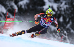 january  25, 2014. (photo/Alessandro Trovati/Pentaphoto) Ski world Cup 2013-2014