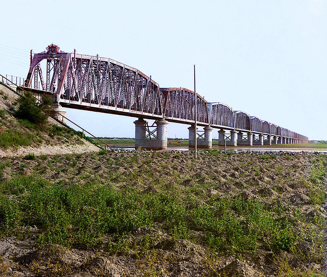 Railroad bridge (between 1905 and 1915)