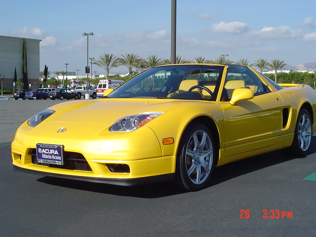 2004 acura nsx yellow yellow flickr photo sharing. Black Bedroom Furniture Sets. Home Design Ideas