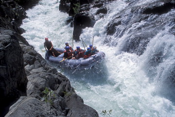 whitewater rafting alloutdoors middleforkamerican