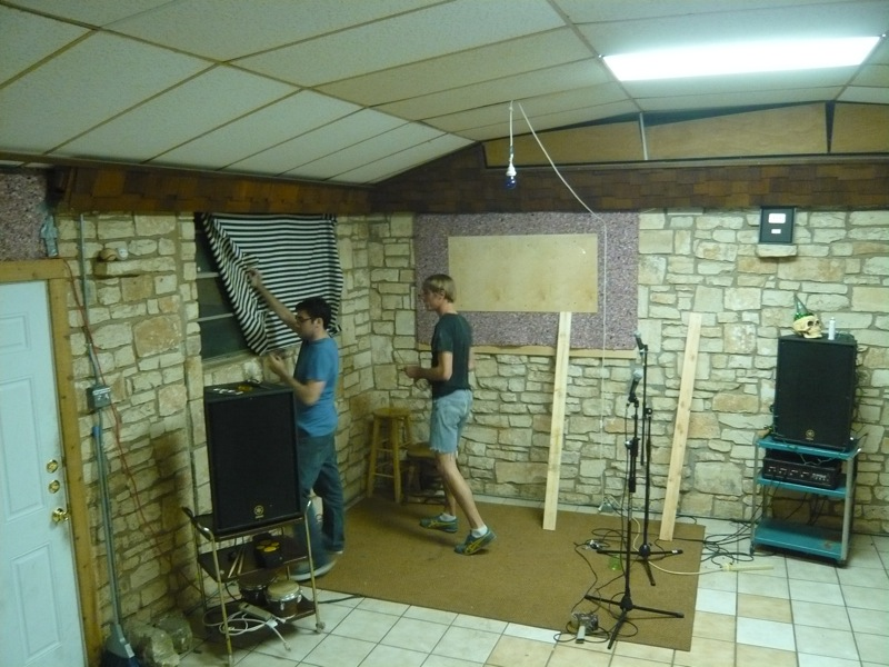 soundproofing studio