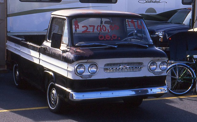 1961 Corvair Pick Up http://www.flickr.com/photos/carphotosbyrichard/3402564857/