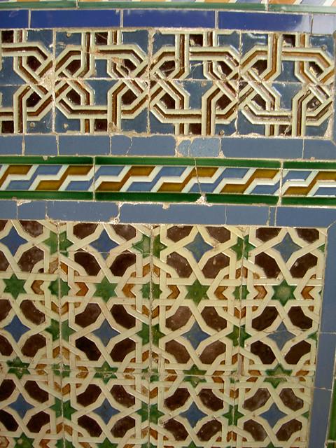 Azulejos Geom Tricos Antiguos En El Palacio De Lebrija