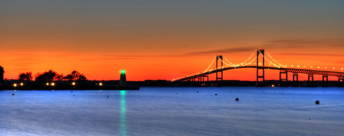 Newport Bridge HDR by Totts3 via I {heart} Rhody