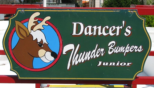 Sign for Dancer's Thunder Bumpers Junior