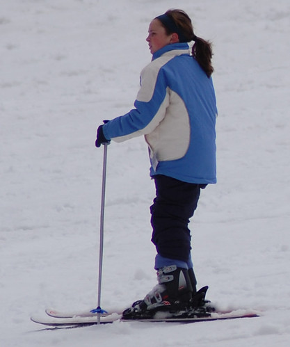 Young woman skier Big Bear par Jan's_Photos