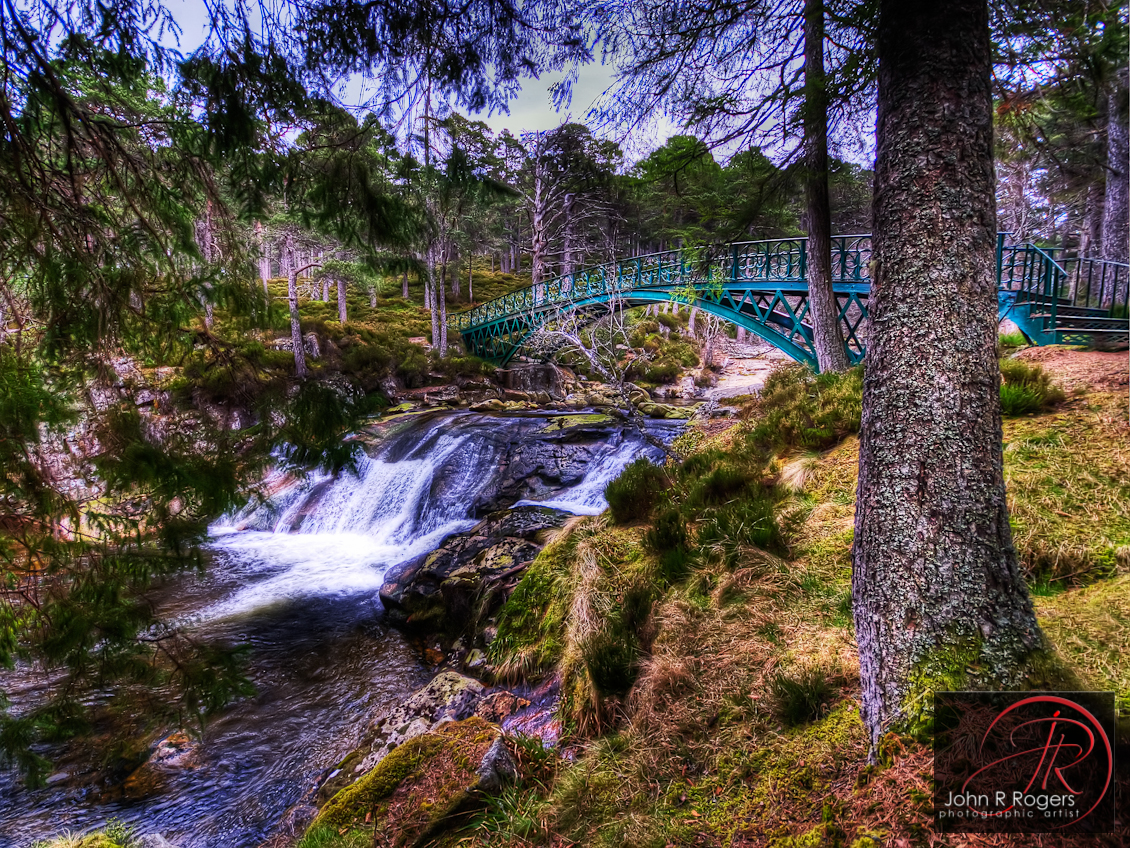 Victoria's Bridge over the Falls of Garbh Allt