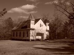 Antioch Baptist Church in Taliaferro County, Georiga