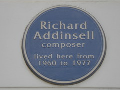 Photo of Richard Addinsell blue plaque