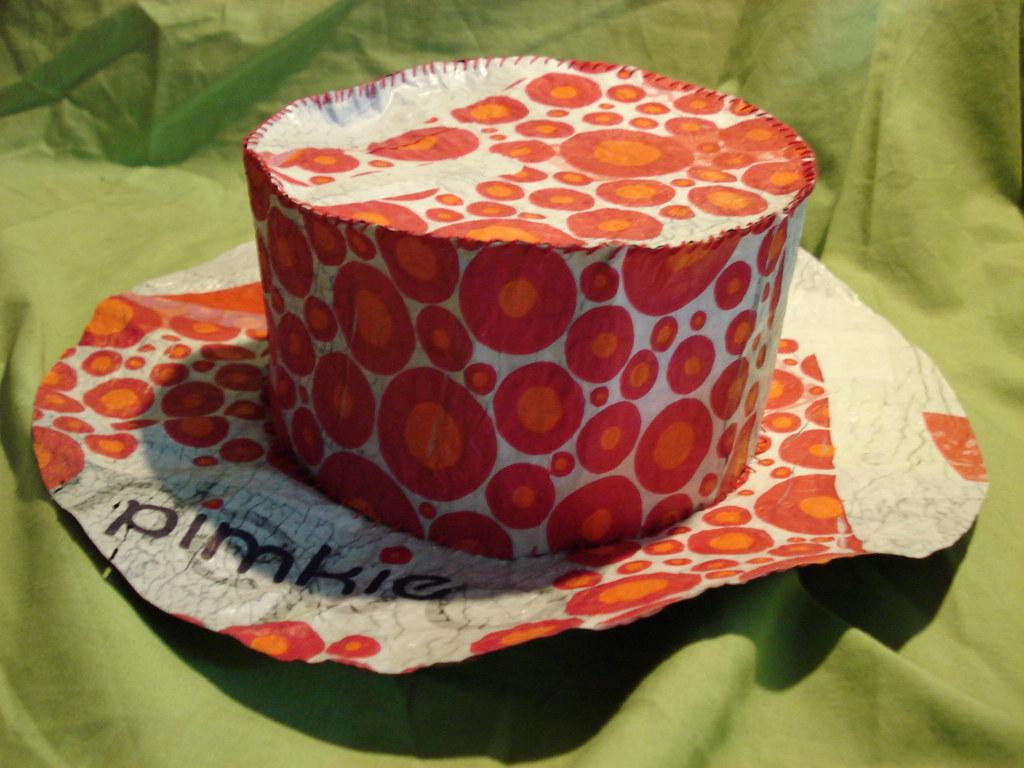Sombrero reciclaje  983aeb13458