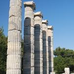 Attēls no Priene. turkey greek columns acropolis priene