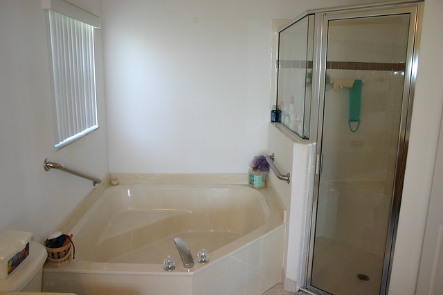 roman tub and stand up shower in master bath flickr photo sharing