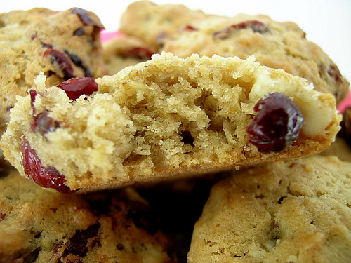 Oatmeal Cranberry White Chocolate Chunk Cookies | Flickr - Photo ...