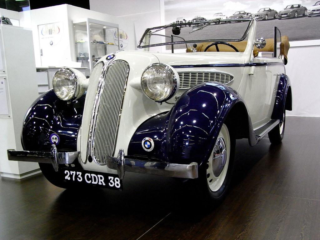 20090213 Paris Rétromobile- BMW 329 (1936)