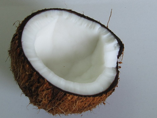 Coconut, Halved, By SingChan via Flickr Creative Commons