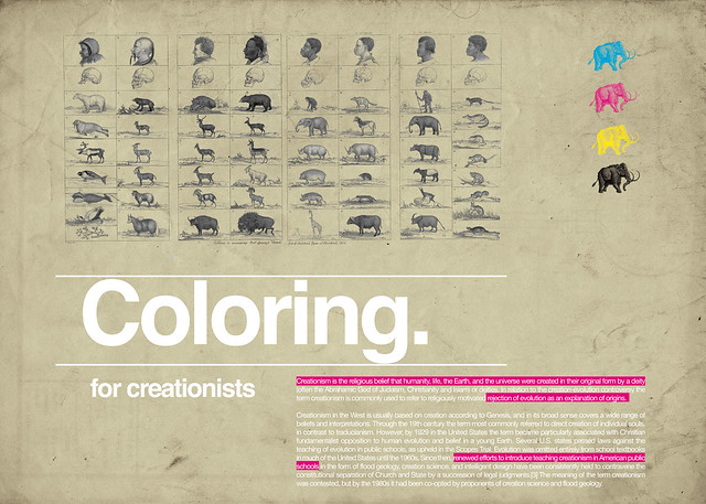 Coloring For creationists / Coloring project