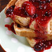 Cinnamon Swirl French Toast with Maple Mix Berry Sauce by culinarycory