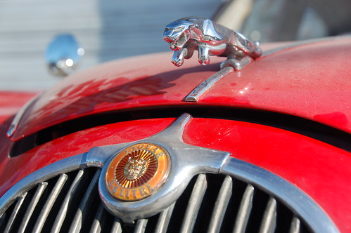 Red Jaguar Mark 1: Chrome