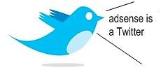 adsense on twitter
