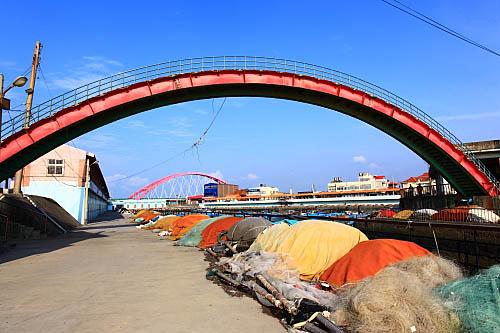 653K竹圍漁港-跨港天橋