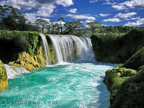 Las Nubes Waterfall