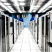 Server room at CERN by torkildr