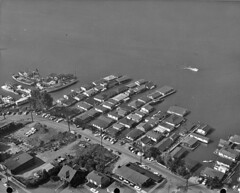 Houseboats at Fairview and East Newton, 1962