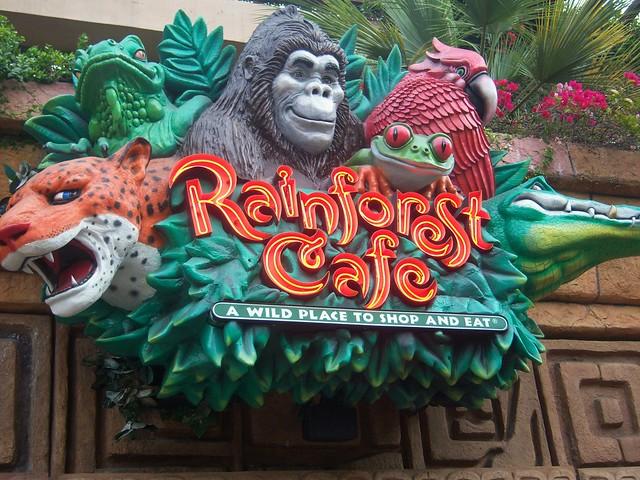 Rainforest Cafe Disneyland Paris Yelp
